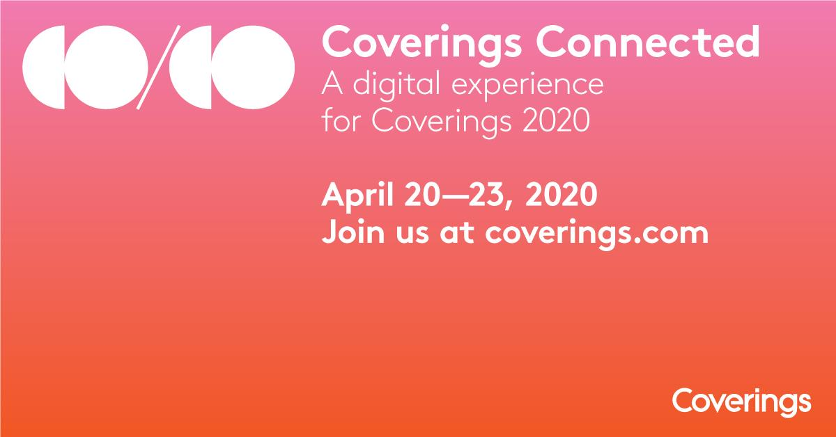 Sanary stone will be online at Coverings Connected